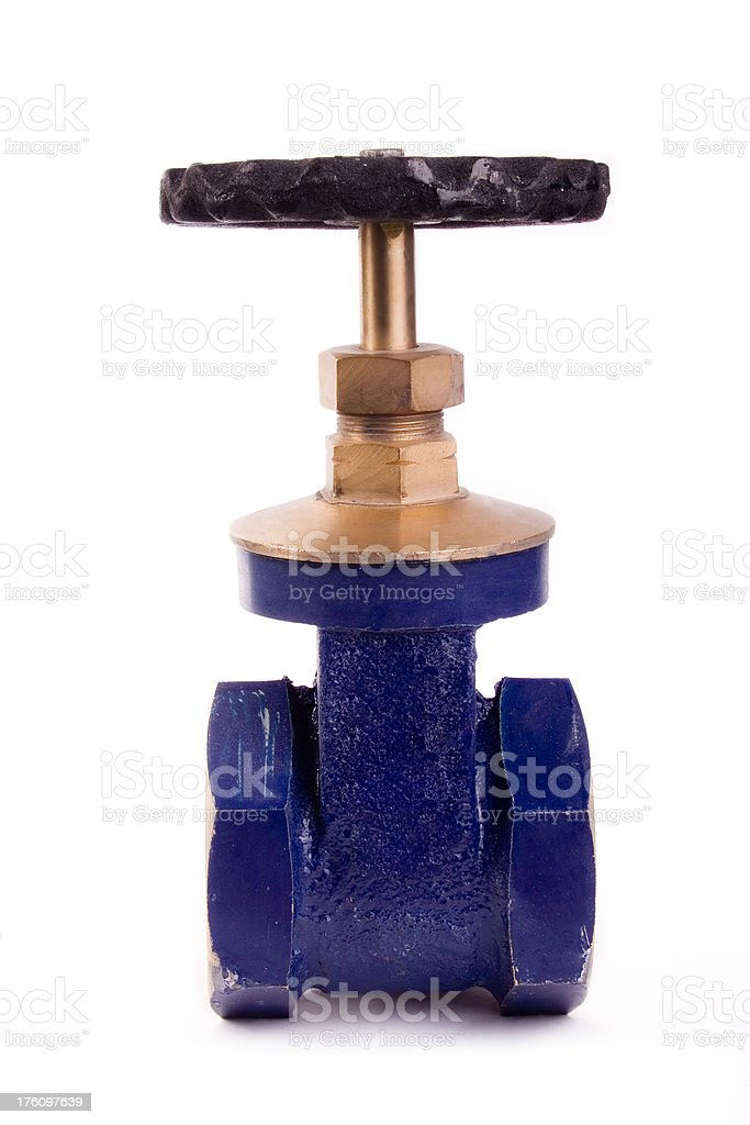 Gate valve royalty-free stock photo