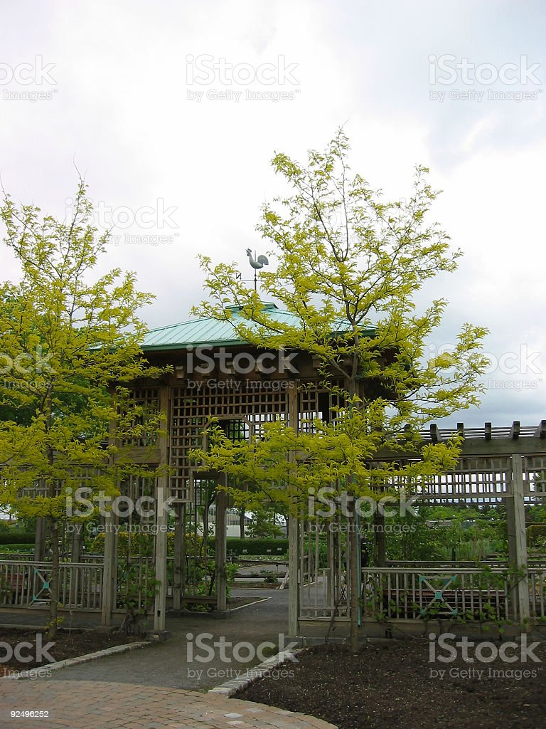 gate, weathervane 2 royalty-free stock photo