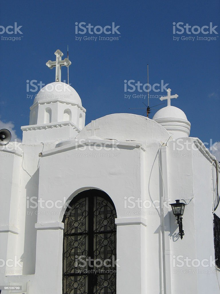 Gated Door of Chapel royalty-free stock photo