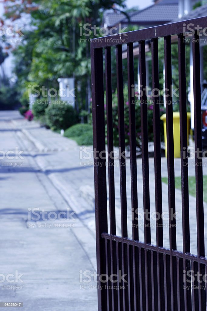 Alloggiamento Gate foto stock royalty-free