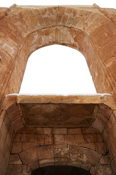 게이츠 오브 이사크 파샤 궁전, 앗샤르키야 하띤 스톡 사진