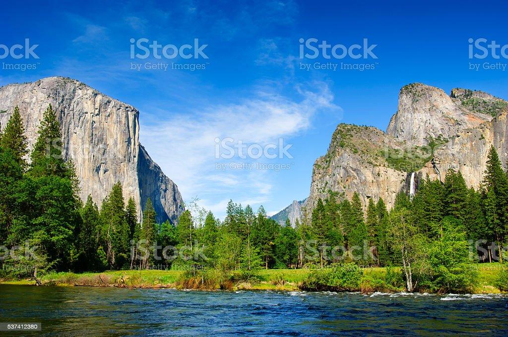 Gates of the Valley Yosemite stock photo