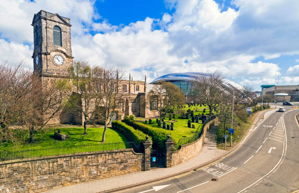 gateshead visitors centre - gateshead stock photos and pictures