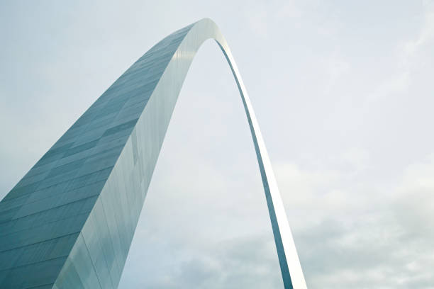 Gateway Arch St Louis Angled – Foto