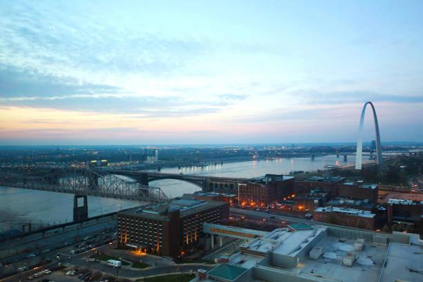 Gateway Arch St. Louis Nightlife – Foto