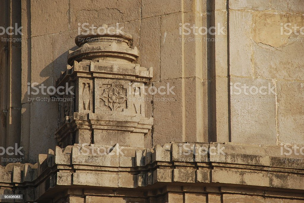 Gateway Of India Detail Pillar Design Mumbai Stock Photo More