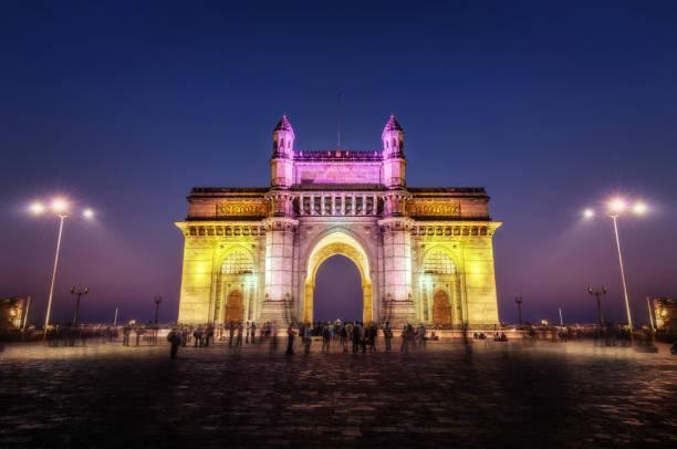 gateway of india mumbai mumbai - mumbai stockfoto's en -beelden