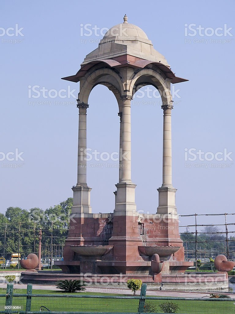 Gateway to Delhi India royalty-free stock photo