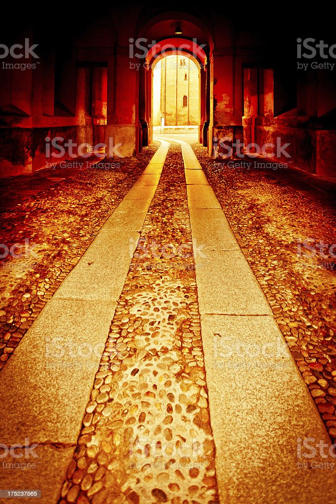 Gateway to Hell royalty-free stock photo