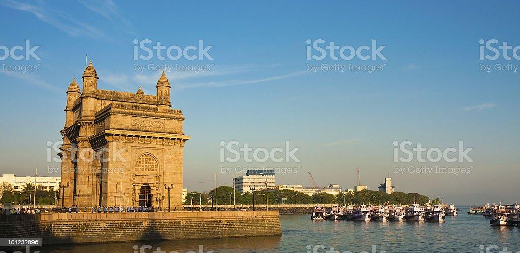 Gateway to India Panorama stock photo