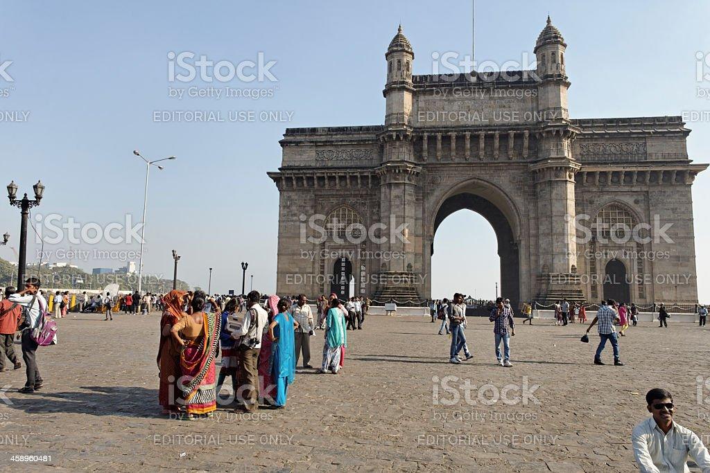 Gateway to India royalty-free stock photo