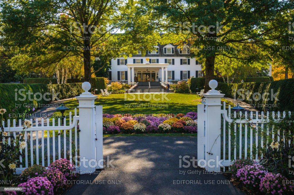 Gateway to the Inn - foto stock
