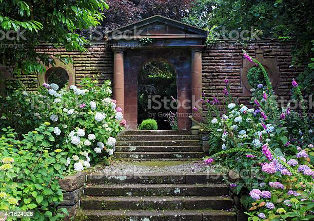 Gateway To The Secret Garden Stock Photo - Download Image Now