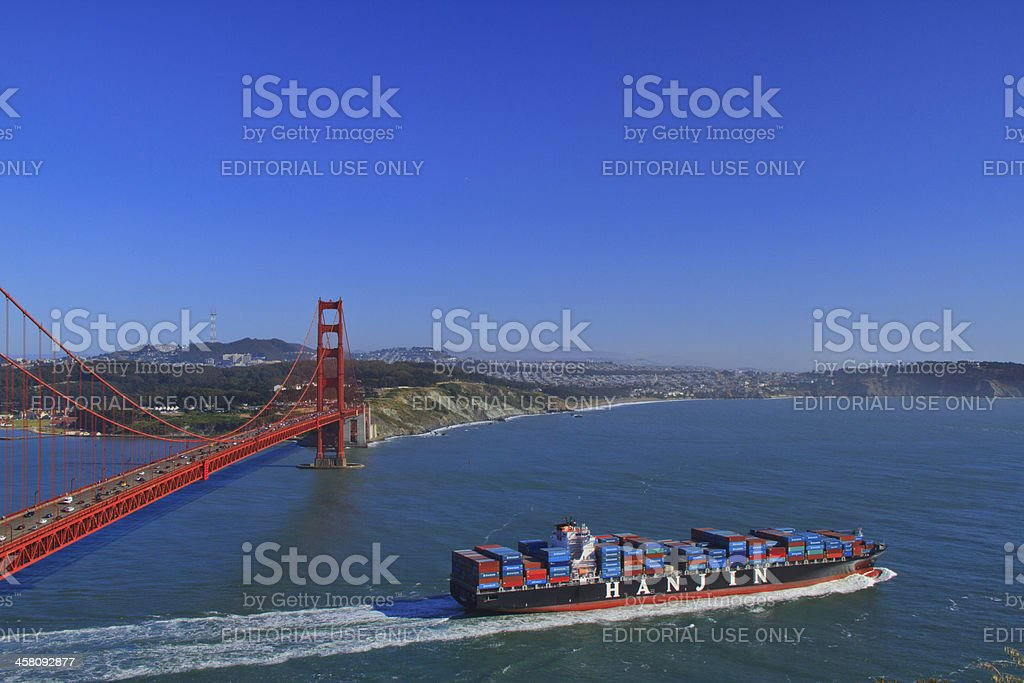 Gateway to the World, Golden Gate royalty-free stock photo