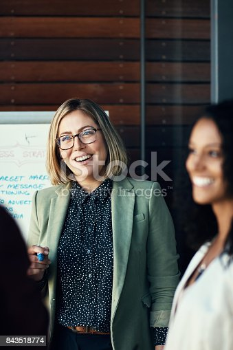 istock Gathered for a business cause 843518774