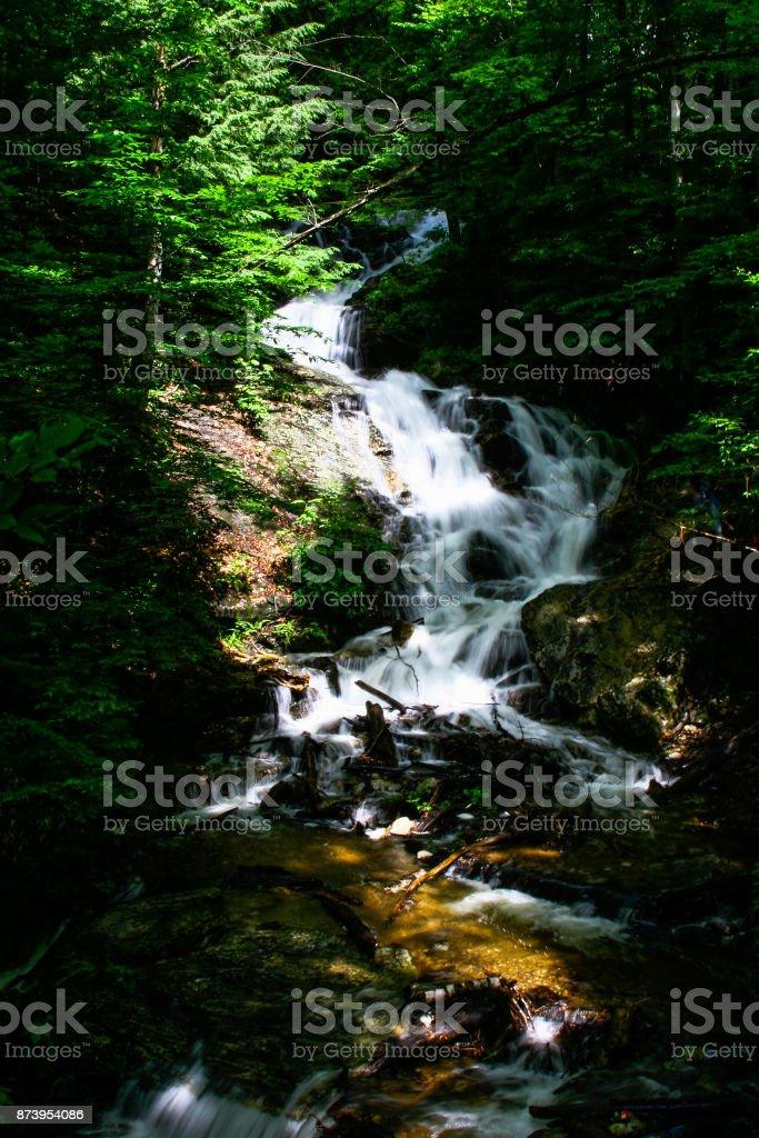 Gatineau Park Waterfalls stock photo
