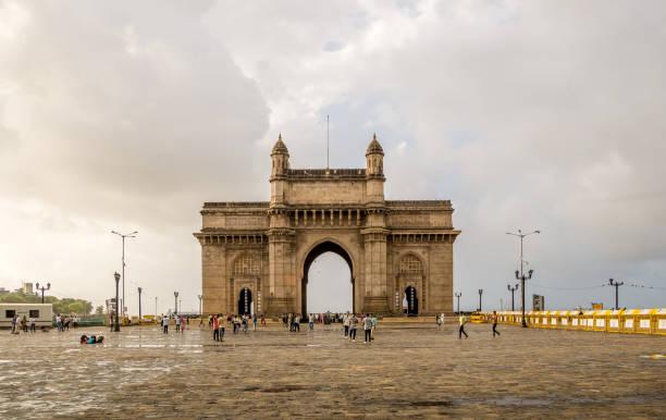 gatway van india - mumbai stockfoto's en -beelden