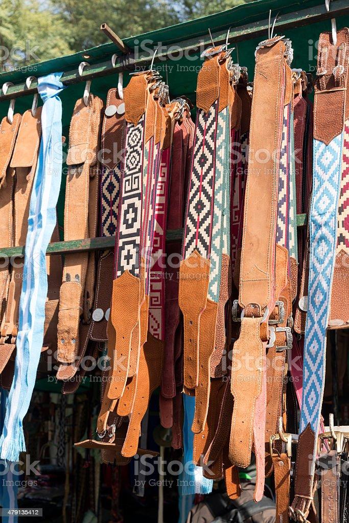 Correas de Gaucho - foto de stock