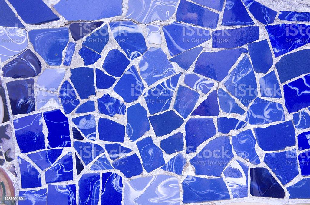 Gaudi ceramics royalty-free stock photo