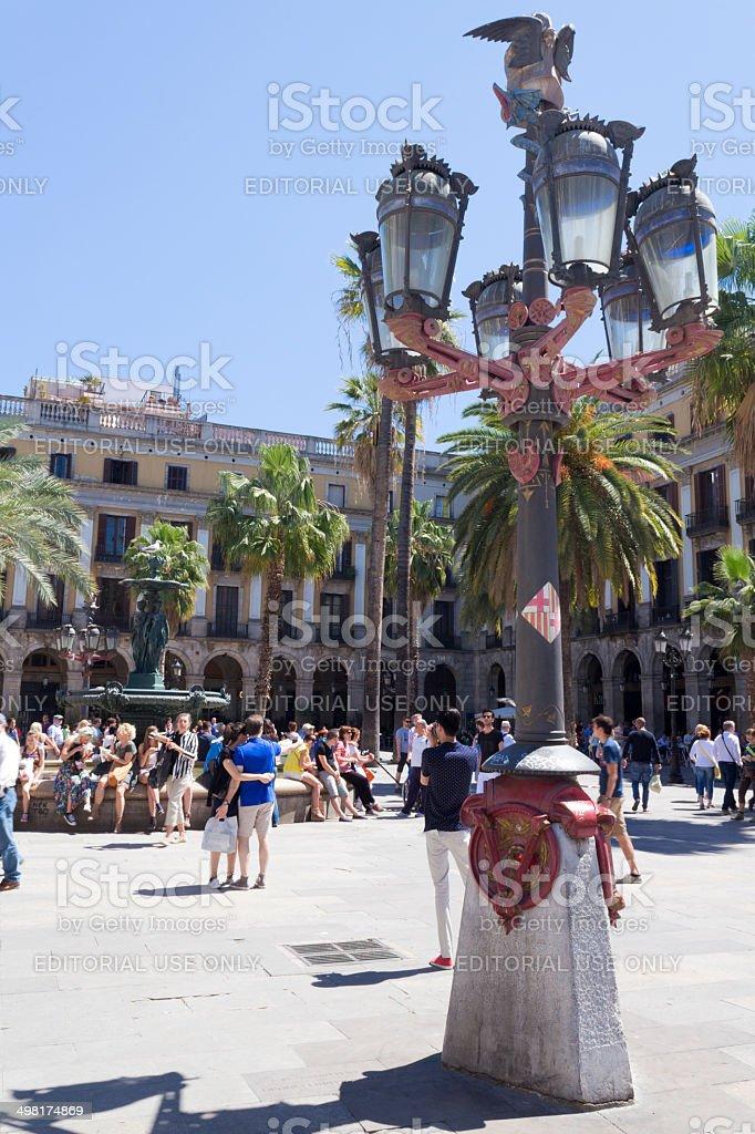 Gaudi first work stock photo