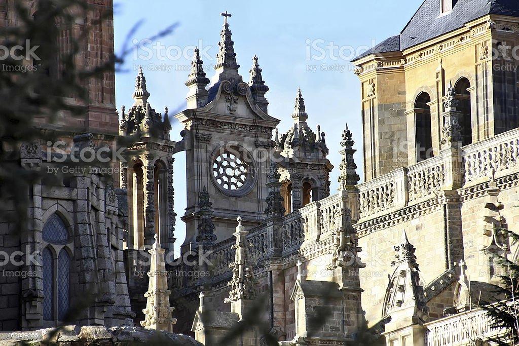 Gaudi palace (Astorga, Spain) stock photo