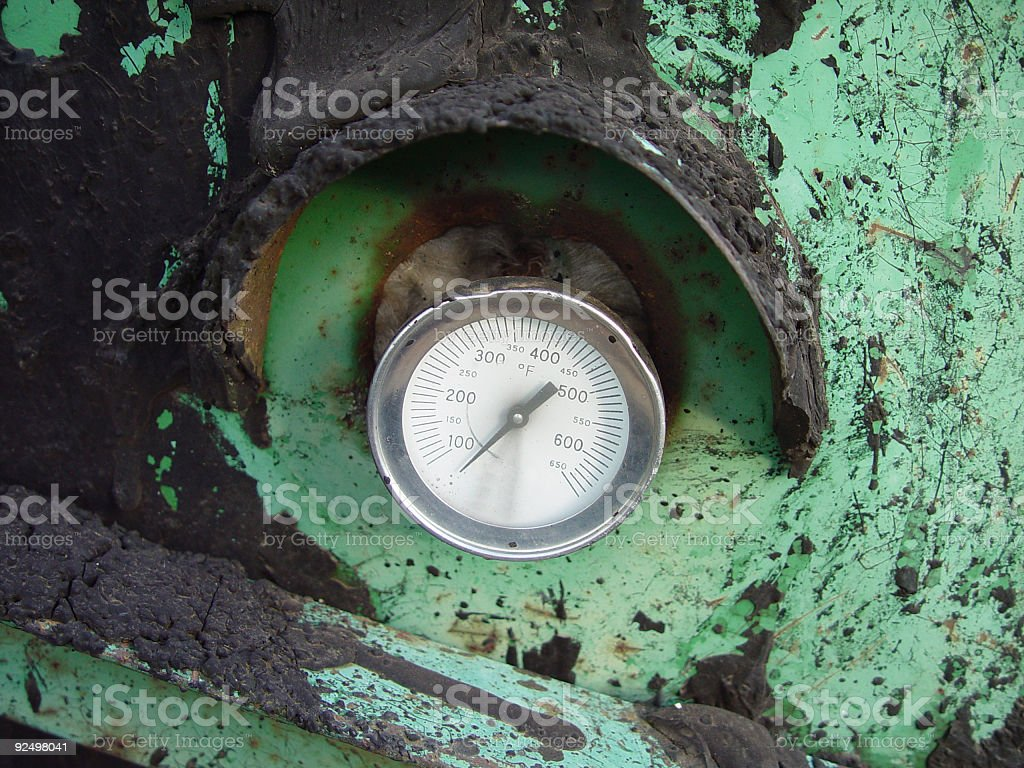 gauge and tar royalty-free stock photo