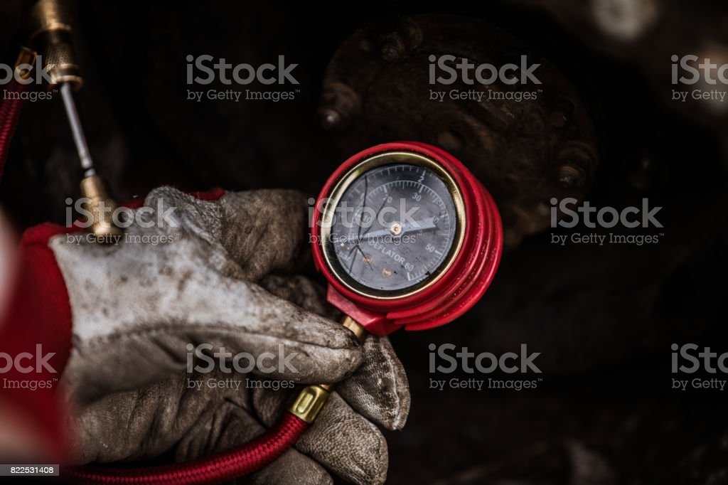 gauge stock photo