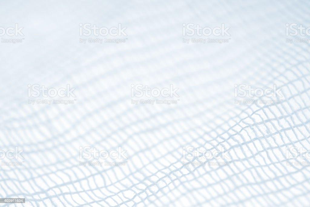 gauze closeup stock photo
