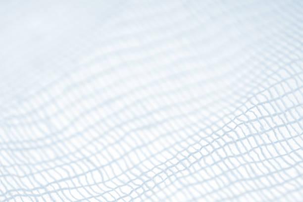 gauze closeup - mesh textile stock photos and pictures