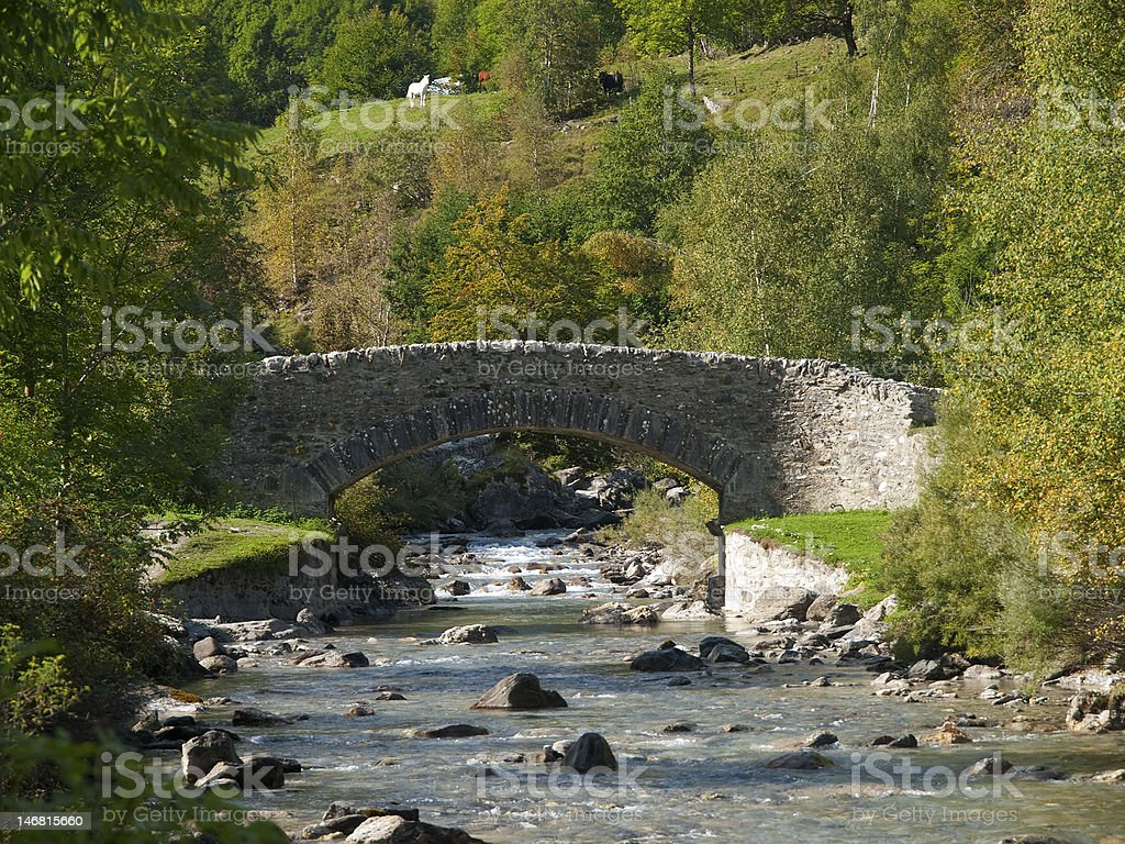 Gavarnie stock photo