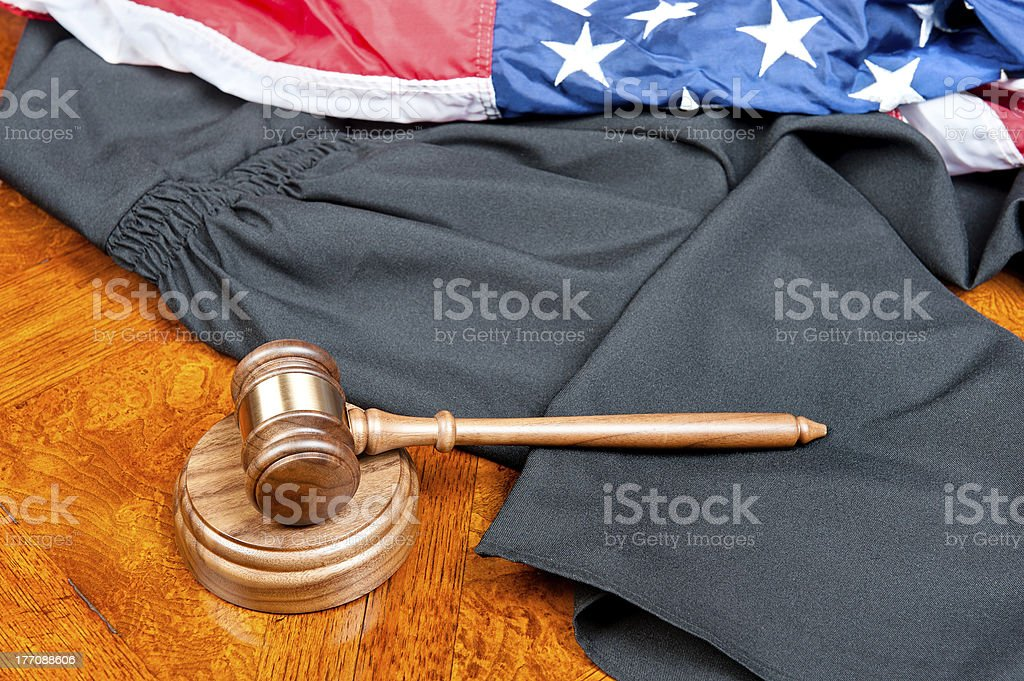 Gavel And Gown stock photo | iStock