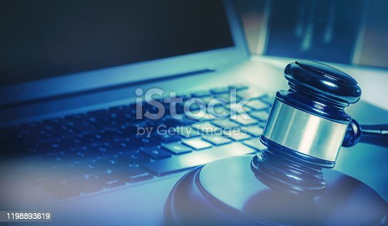 Legal law books concept imagery