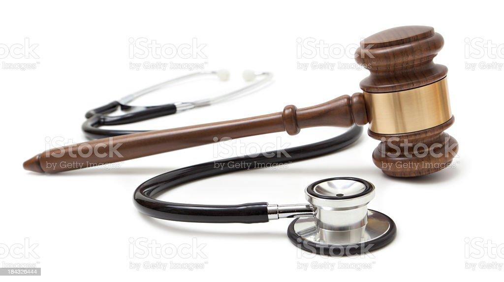 Hammer und Stethoskop – Foto