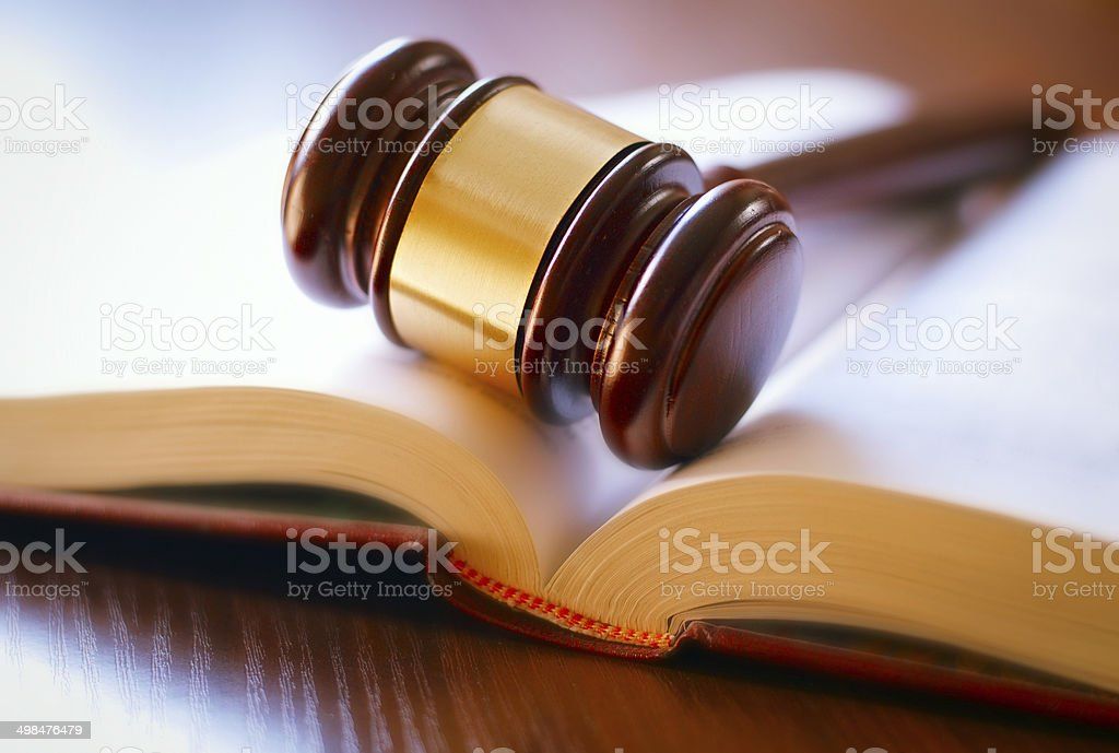 Gavel on sounding block - Royalty-free Auction Stock Photo