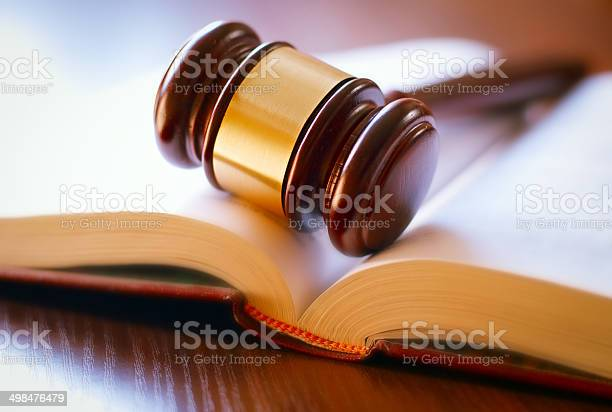 Gavel On Sounding Block Stock Photo - Download Image Now