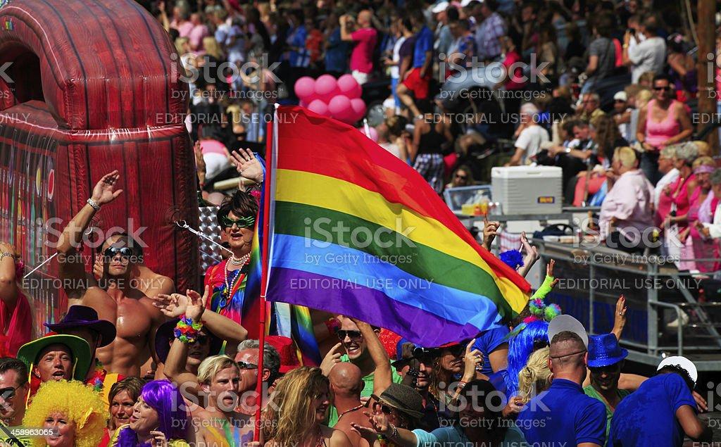 Gay Canal Parade, Amsterdam – Foto