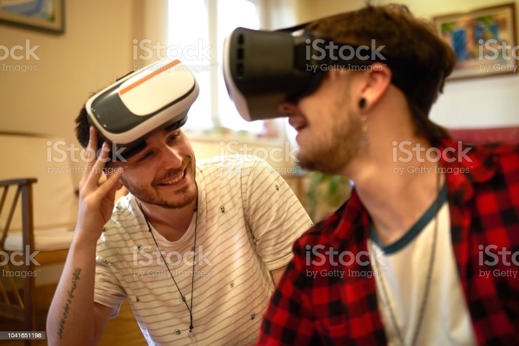 Gay virtual video