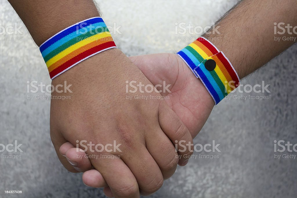 Gay dating stock photo