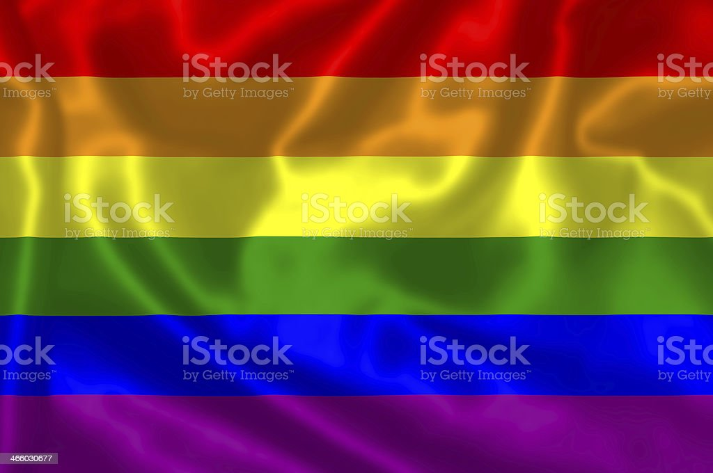Gay flag. royalty-free stock photo