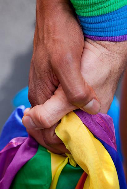 Gay Hands stock photo