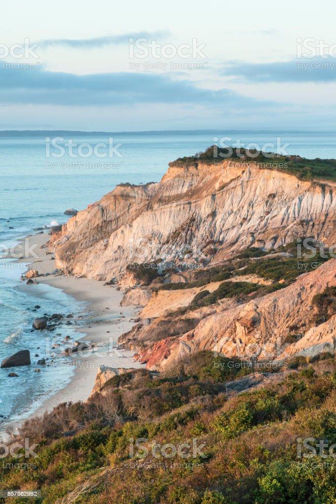 Gay Head Cliffs On Marthas Vineyard Photograph by