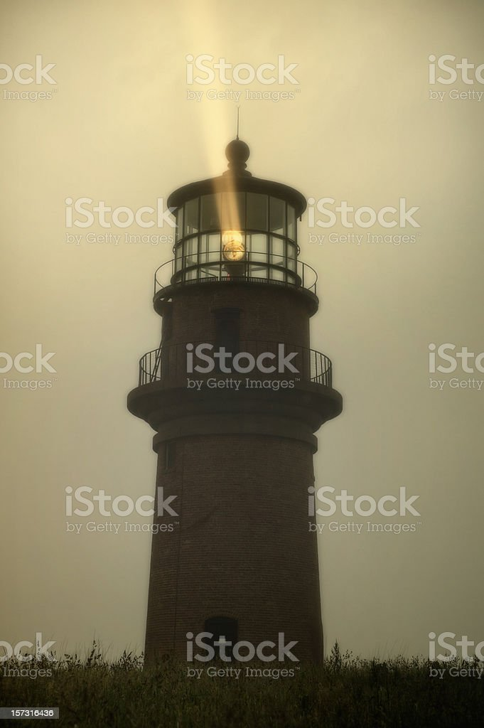 Gay Head Lighthouse royalty-free stock photo