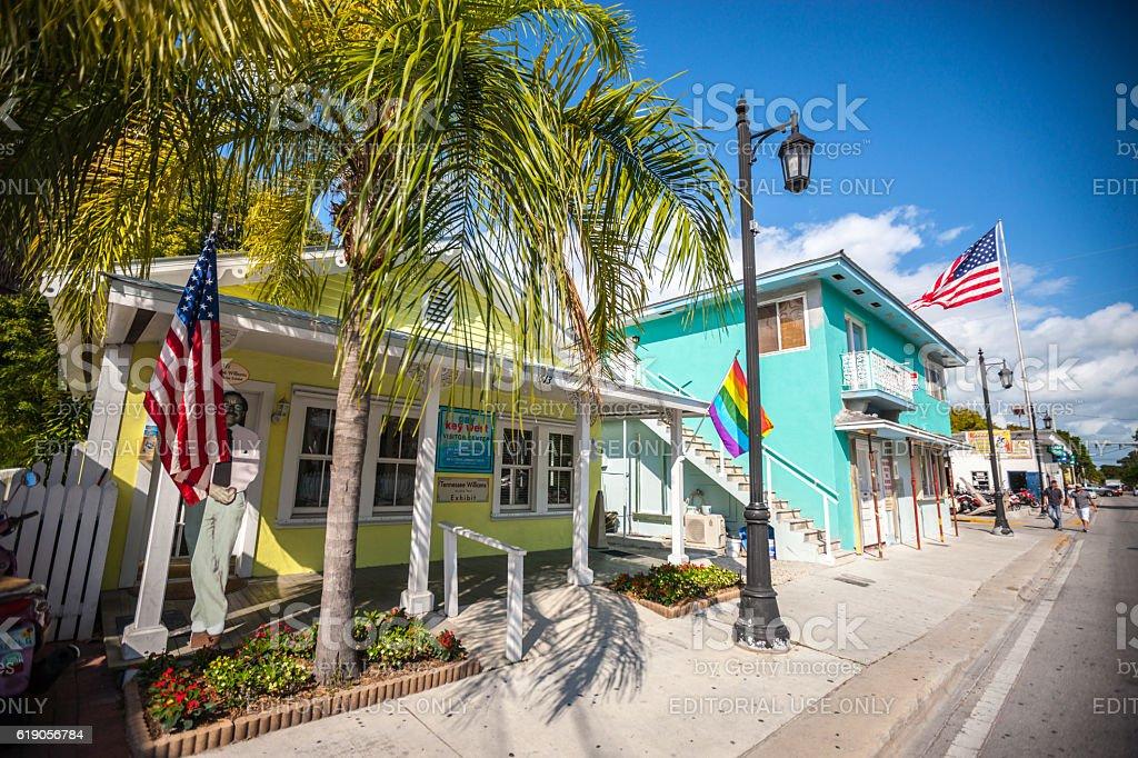Gay Key West Community Center, Florida, USA royalty-free stock photo