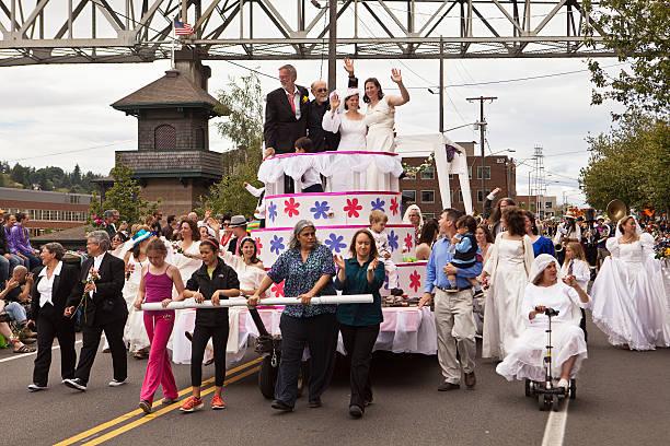 Fremont Neighborhood Seattle Stock Photos, Pictures