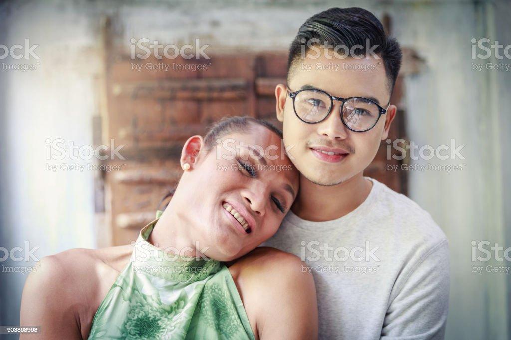 Gay Love Couple stock photo