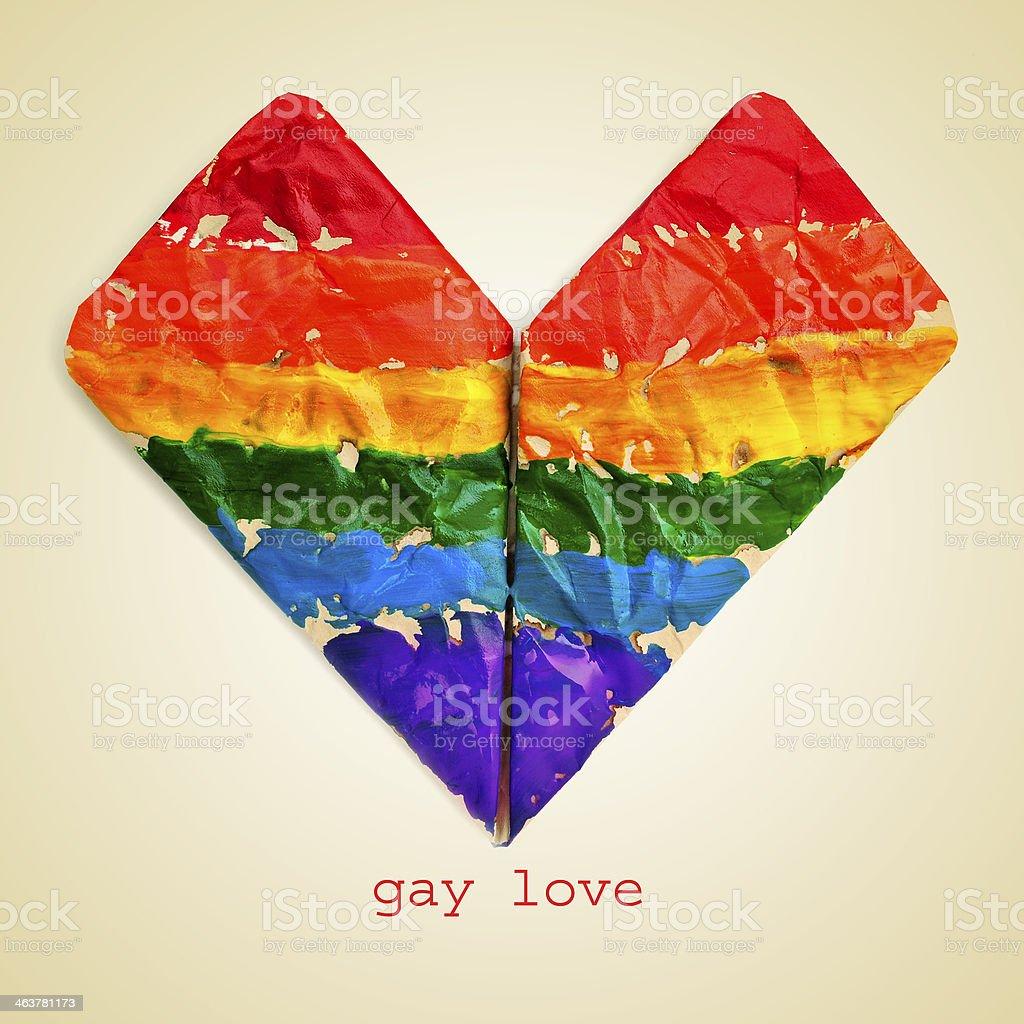 gay love royalty-free stock photo