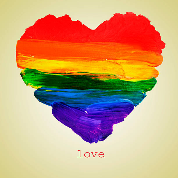 gay love stock photo