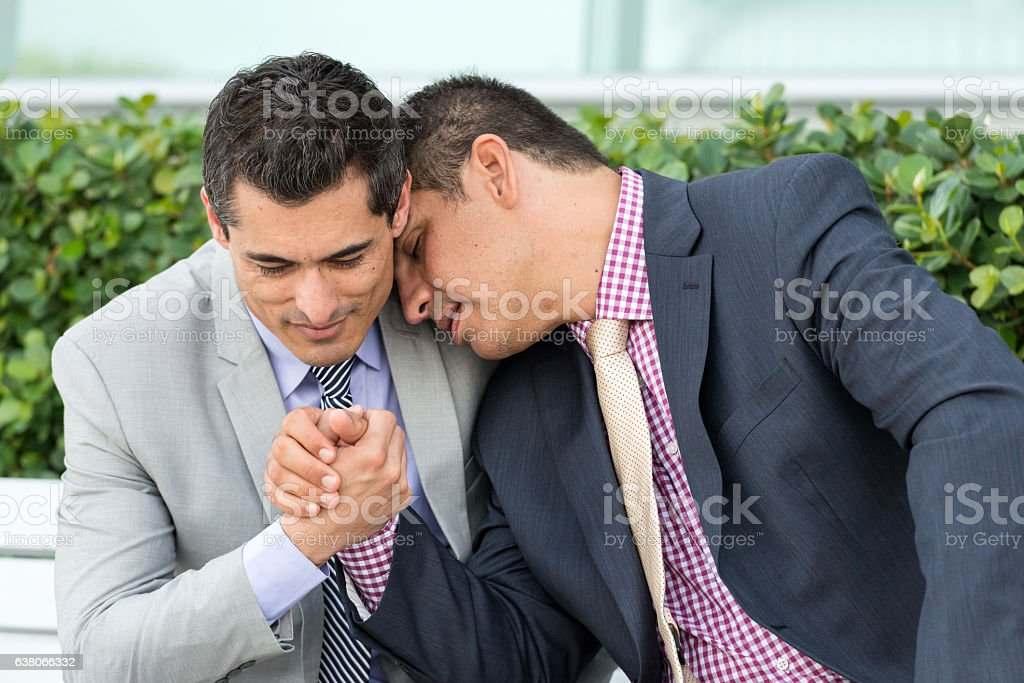 Gay businessman picture
