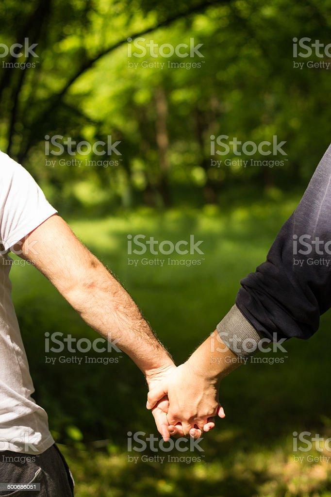 Gay Men Hands ClaspedGay Men Hands Clasped