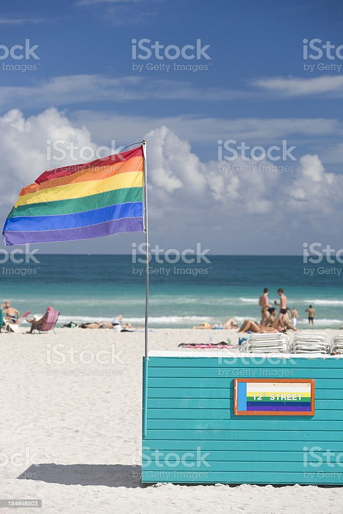 Gay Pride Flag royalty-free stock photo